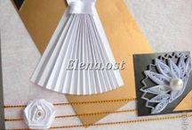 Оригами - отктрытки