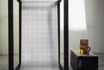 "FEATHR.COM - Geometrics / Bring order to your walls with the pure lines of our modern Geometric designer wallpaper.  Elle Décor calls it their ""new favorite wallpaper""."
