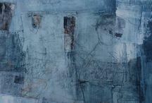 monochrome paintings