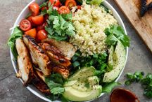 healthy new year's recipes / Healthy superfood recipes to help you stay on track with your New Year's Resolutions.