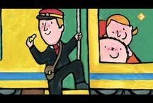 school: thema trein