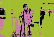 People in pop art / Thank u app stope