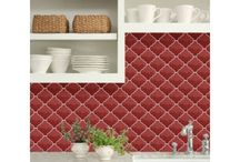 Lantern Tiles / Arabesque lantern shaped tiles are inspired by the traditional Moroccan handmade designs that draw upon century-old Moorish tradition. Whether you want a subdued romantic fireplace surround or a lively kitchen backsplash that exudes fiesta fun, arabesque lantern tiles ranges are the tile for you. Now available in modern colours and finishes for that timeless finish.