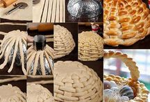 Easy To Bake Braided Dough Basket – DIY