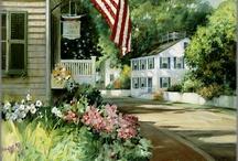 Oil paintings: Paul Landry