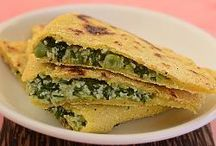 Rotis, Theplas and Naans / We have beautiful images of India's loved breads which are the ever popular rotis. Enjoy the stunning variety of Indian breads.