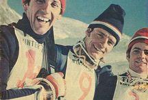 Vintage Stefan Kaelin / Vintage Ski Racing.  Stefan Kaelin in Aspen, Colorado.