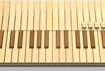 Keyboard Nouveau / Keyboard, piano and synth designs breaking with tradition. Concept or actual.