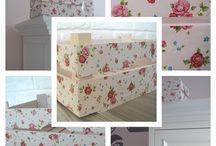 crates / home decoration