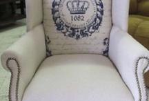 A Chair Affair / Each chair tells a story.