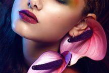 Unfiled Hair Makeup Inspiration