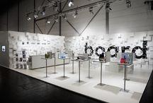 exhibitions, installations
