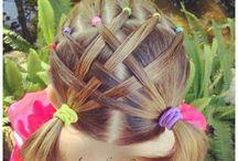 Little girl hair designs