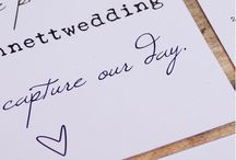 Our Stationery / Want a wedding that is perfect from the Engagement party to the bonbonerie? Then our collection of customisable Stationery is for you.