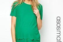 Pregnancy Fashion / Cute outfit ideas for pregnancy. #PregnancyFashion