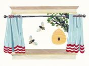 Getting Organized - Bees / Rebekka Seale was commissioned to produce a series of hand-painted illustrations for the website http://www.Homecare.com. Homecare.com is an eldercare website that was created to help families take care of their aging loved ones.  The charming gouache and watercolor illustrations help viewers navigate the site and provide warmth and color.  / by Homecare.com