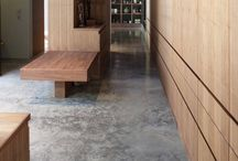 Polished concrete / Design