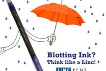 Ink with the Linc / Say hello to monsoon without the fear of blotting! Ink with Linc and enjoy a waterproof writing.