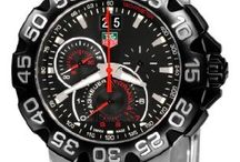 TAG Heuer Formula 1 / The TAG Heuer Formula 1 range of watches pays homage to the days of motor racing supremacy and TAG Heuer has long had a close relationship with the dramatic and exciting field of high performance motorsports. TAG Heuer accompanied prestigious Formula 1 teams like Ferrari and McLaren have been actively involved in the sport and also very much influenced by it. / by Watch fan Watches.com