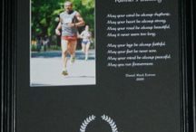 On Running & Runners / This board will include running related items.