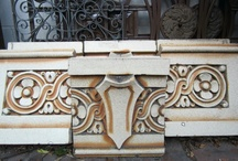 Terra Cotta, Stone and Marble / Antique pieces from buildings, homes and also Europe.  Just beautiful.