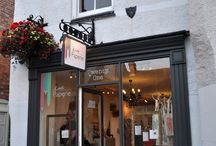 ~ LITTLE PAPERIE ~ / Our gorgeous little stationery boutique in Ashbourne, Derbyshire x