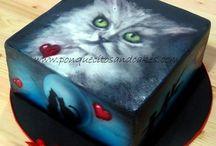 Tortas pintadas