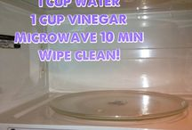 Microwave  / Cleaning