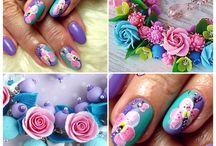 Дизайн ногтей ( мои работы )
