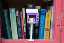 Gift Ideas For Little Free Library Fans / Creative and fun gift ideas for the book lover in your life. For more ideas, check out http://littlefreelibrary.org/product-category/accessories/ / by Little Free Library