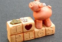 Piggy Figurine