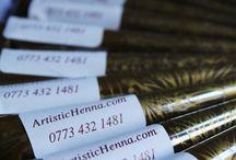Henna Cones  / For all your henna needs - henna powder, henna oil & henna cones