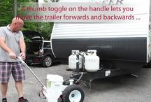 Parkit360. Simple Parking For Every Trailer / www.parkit360.com Electric powered trailer mover