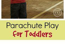 parachute activities
