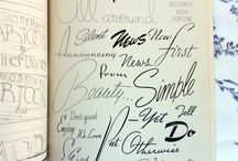 Typography / by Andrea Burrell