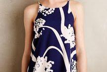 Summer Blouse patterns