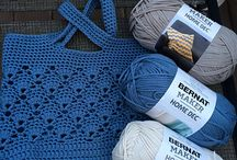 Crochet bags & coin purse's