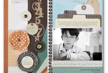 Scrapbooking-Layouts / by Katie