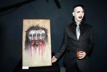 Marilyn Manson Painting