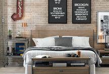Contemporâneo Industrial | Dormir 2015 / O seu quarto com o toque urbano da linha Contemporâneo Industrial. http://goo.gl/kwXSzF