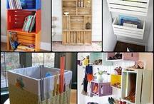 Upcycle Storage Ideas