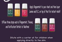 Young Living Oils- info on use