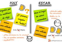 Hay vs Estar