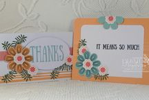 Stampin' Up! My Paper Pumpkin August 2017 Giftable Greetings