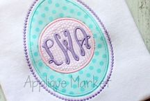 Easter and Spring Appliques / Easter and Spring Appliques