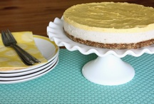 Clean Desserts (Cakes & Pies) / No grain, no refined sugar. YAY! Pure YUMMINESS!!! / by Jenn Thurman