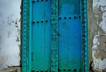 Doors in Teal / Turquoise / Mint