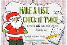 Classroom Ideas--Christmas