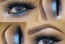 Makeup (blue eyes)