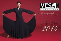 NEW VESA FOR CHRISANNE DANCEWEAR COLLECTION 2014 / The creativity and inspiration of VESA and CHRISANNE has once again come together to bring you this brand new and exclusive collection of Latin Dancewear for 2014. Check out the collection here http://bit.ly/1qY4ZBj